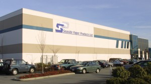 Seaside Paper Products Building in Richmond, BC